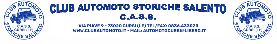 Club AutoMoto Storiche Salento